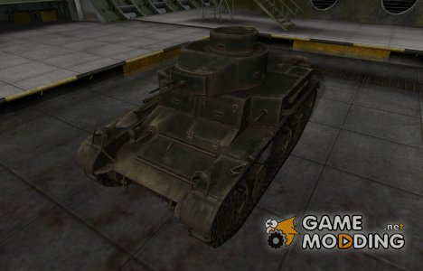 Шкурка для американского танка M2 Light Tank для World of Tanks