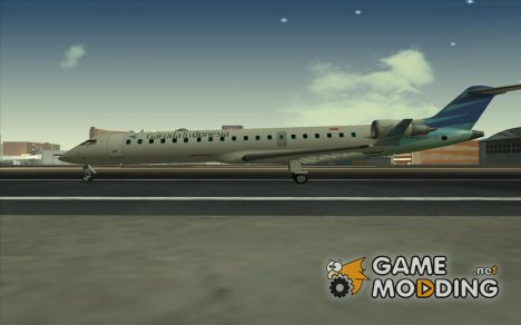 Bombardier CRJ-700 Garuda Indonesia for GTA San Andreas
