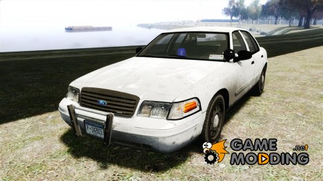Ford Crown Victoria Detective v4.7 Emerglights blue для GTA 4