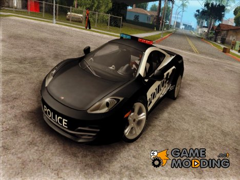McLaren MP4-12C Police Car for GTA San Andreas