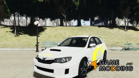 Subaru Impreza WRX STi 2011 Subaru World Rally Team для GTA 4
