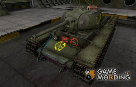 Контурные зоны пробития КВ-1С для World of Tanks