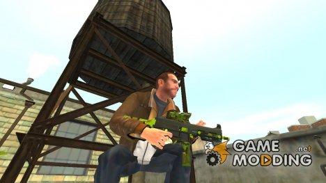 Пистолет-пулемёт UMP45 v.7 for GTA 4