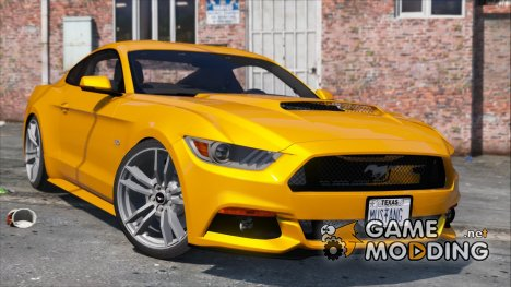 Ford Mustang GT 2015 v1.1 for GTA 5