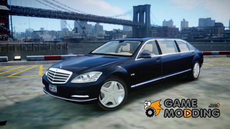 Mercedes-Benz S600 Guard Pullman 2011 for GTA 4