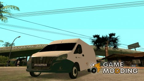 ГАЗель Next цельнометаллический фургон for GTA San Andreas