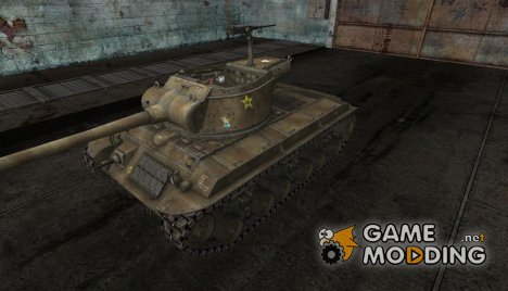Шкурка для T25/2 Desert for World of Tanks