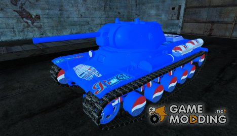 Шкурка для КВ-13 PEPSI for World of Tanks