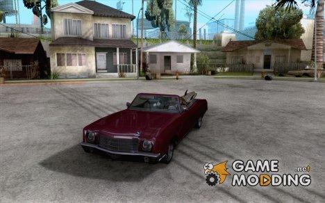 Chevy Monte Carlo Ragtop 1970 для GTA San Andreas