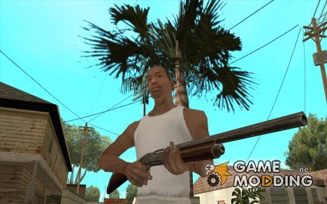 Remington 870AE Silver для GTA San Andreas