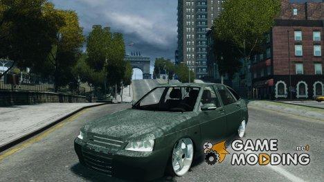 Lada Priora хэтчбек бета for GTA 4
