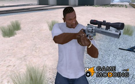 44.M Raging Bull with Scope для GTA San Andreas