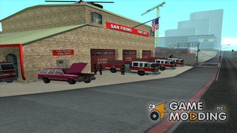 Оживление пожарной части в Сан-Фиерро Final V 1.5 для GTA San Andreas