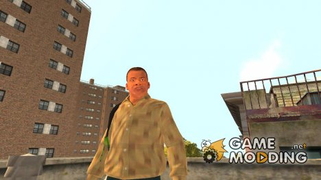 Франклин из GTA 5 for GTA 4