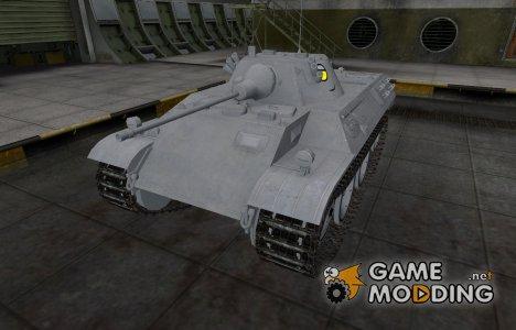 Мультяшный скин для VK 16.02 Leopard для World of Tanks