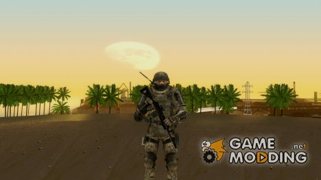 COD MW3 Heavy Commando для GTA San Andreas