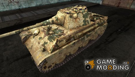 Panther II от kamutator для World of Tanks