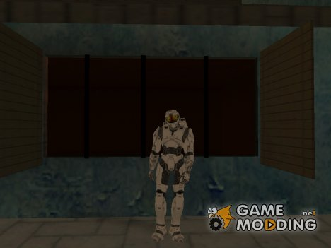 Masterchief White for GTA San Andreas