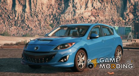 2010 Mazda Mazdaspeed 3 for GTA 5
