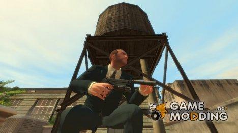 Beretta 92 Silenced v.2 для GTA 4