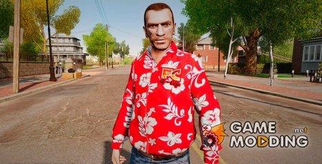 Гавайская рубашка for GTA 4