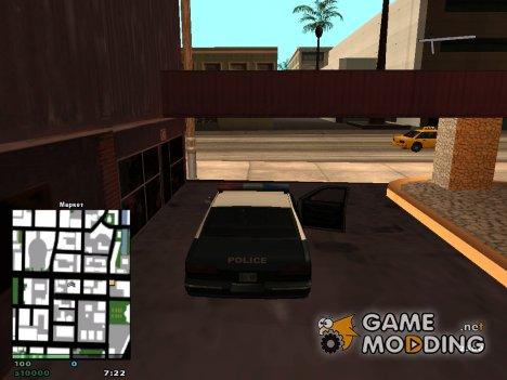 Один день из жизни ментов для GTA San Andreas