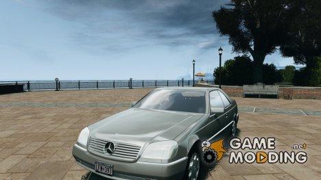Mercedes-Benz 600SEC C140 1992 v1.0 for GTA 4