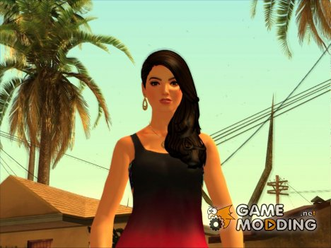 Lana from The Sims 4 для GTA San Andreas