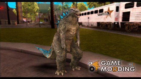 Godzilla 2014 for GTA San Andreas
