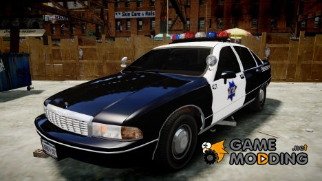 Chevrolet Caprice 1990 LCPD [ELS] Traffic для GTA 4