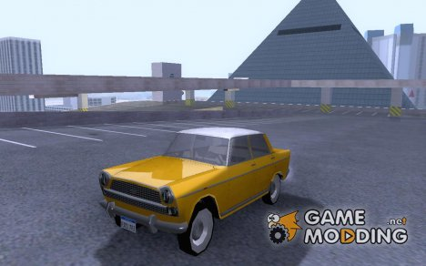 1960 Seat 1400 C for GTA San Andreas