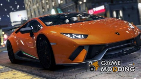 Lamborghini Huracan Performante 2016 for GTA 5