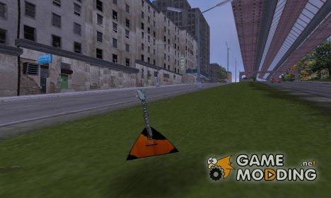 Балалайка Клода для GTA 3