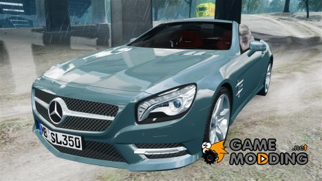 Mercedes-Benz SL 350 2013 v1.0 for GTA 4