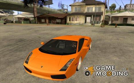 Lamborghini Gallardo White & Pink для GTA San Andreas