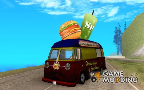 Burger Van for GTA San Andreas