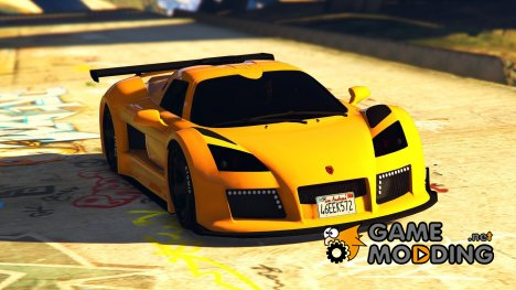 Gumpert Apollo S 1.1 для GTA 5
