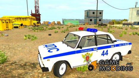 """ВАЗ 2105 """"Полиция"""" для GTA 4"""