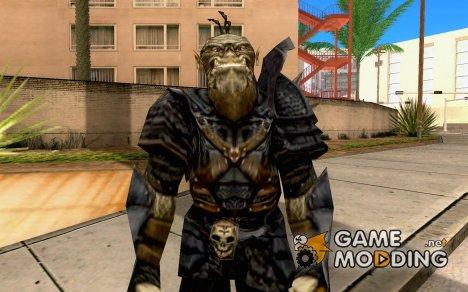 Орк - элитник из игры Готика 2 для GTA San Andreas