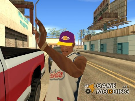 Lakers Cap for GTA San Andreas