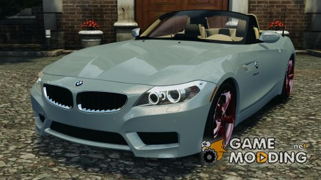 BMW Z4 sDrive 28is 2012 для GTA 4