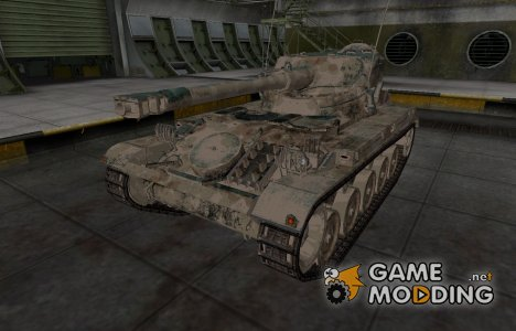 Французкий скин для AMX 13 75 для World of Tanks
