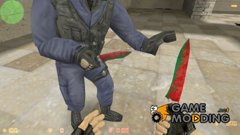 Belarusian Knife для Counter-Strike 1.6