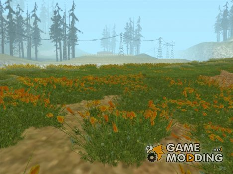 Dream Grass (Low PC) for GTA San Andreas