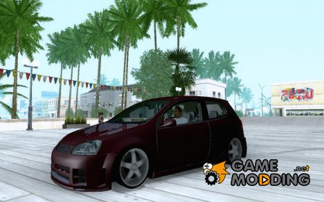 VW Golf Gti Tuning для GTA San Andreas