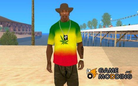 Shirt of Jamaica for GTA San Andreas