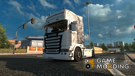 "Scania R560 V8 Streamline ""Marines\"" for Euro Truck Simulator 2"