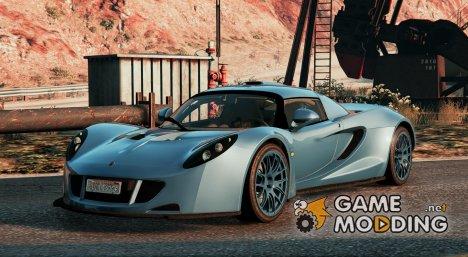 Hennessey Venom GT 2010 2.0 for GTA 5