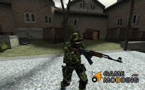 Rooty's Jungle Camo для Counter-Strike Source
