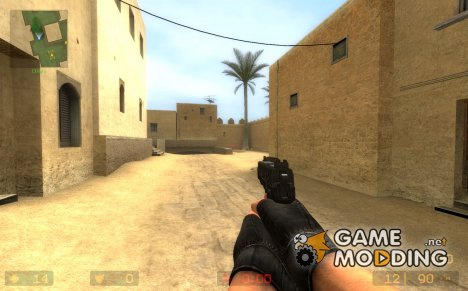 FNP.45 On Killer699 anims updated! для Counter-Strike Source